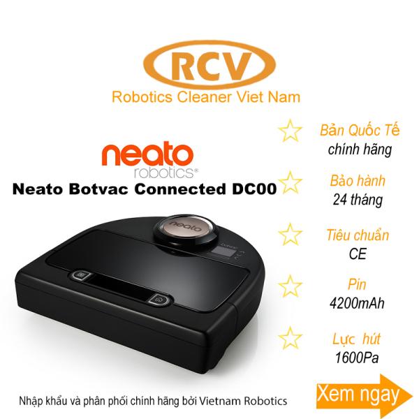 [HCM]Robot hút bụi số 1 tại Mỹ Neato Botvac Connected DC00 - Bản Quốc Tế - Mới 100%