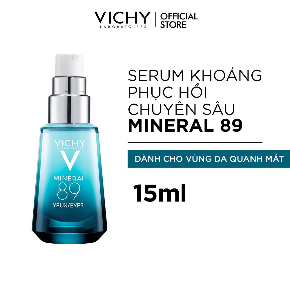 Dưỡng Chất Khoáng Núi Lửa Cô Đặc Dành Cho Vùng Da Quanh Mắt Vichy Miner 89 Eyes Repairing Eyes Fortifier 15ml