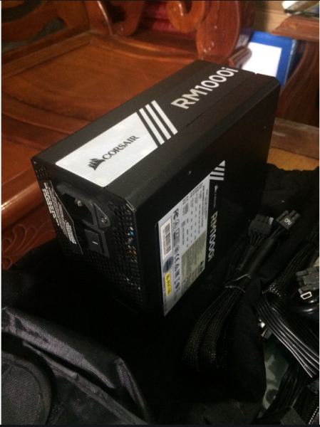 Giá Nguồn Corsair RM1000i 80 full modull