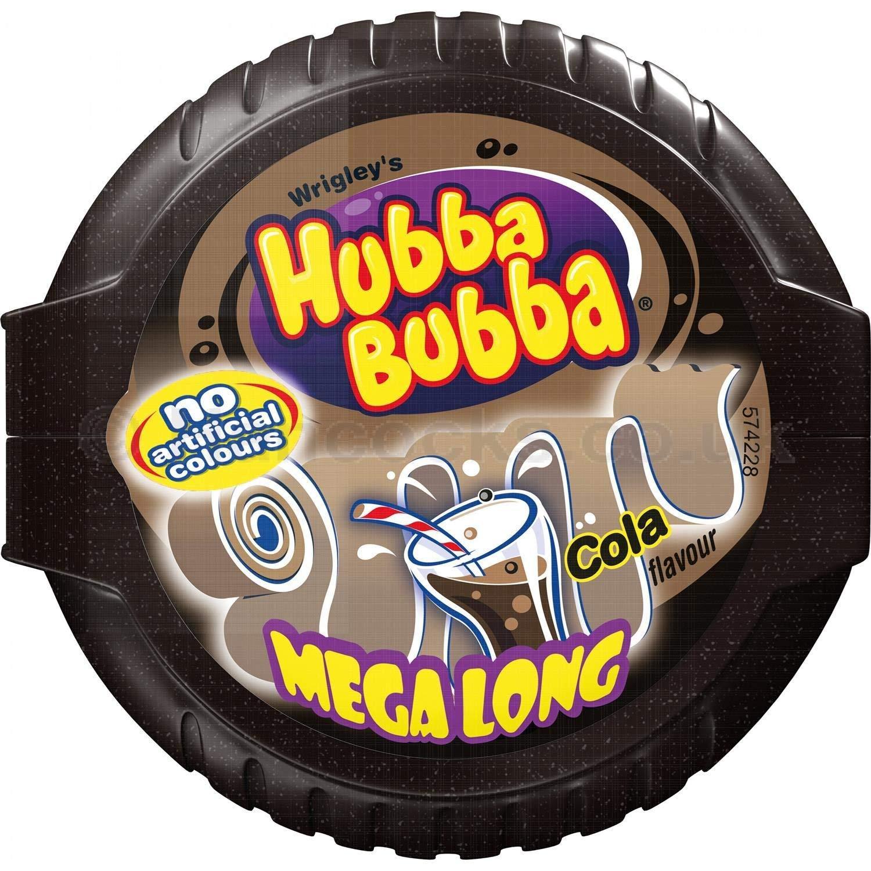 Kẹo gum ( cao su ) cuộn Hubba Bubba dÀI 180cm vị cola ( Mẫu mới - Nội địa Gemany - Xách tay Đức )