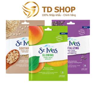 Mặt nạ dưỡng da St.Ives Yến mạch I Trái Mơ I Việt quất 23ml - TD Shop thumbnail