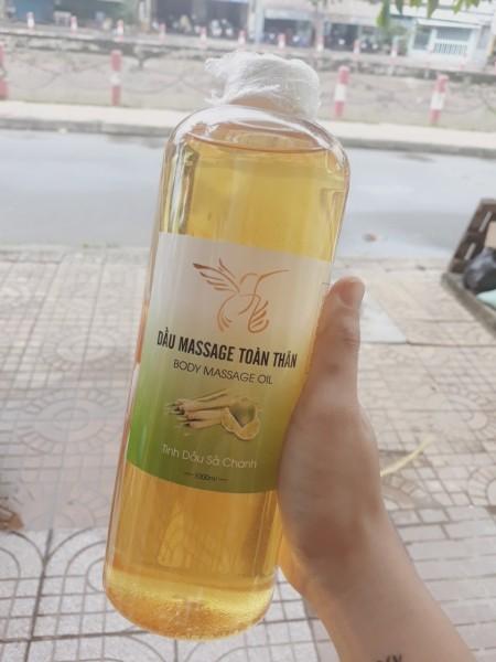 Tinh dầu massage sả chanh 1L nhập khẩu