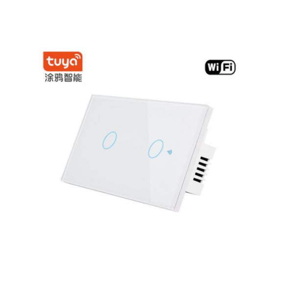 Công tắc cảm ứng,công tắc Wifi Smart Switch app Smart Life,app Tuya  (Chữ nhật 4 nút,3 nút,2 nút,1 nút) nhà thông minh