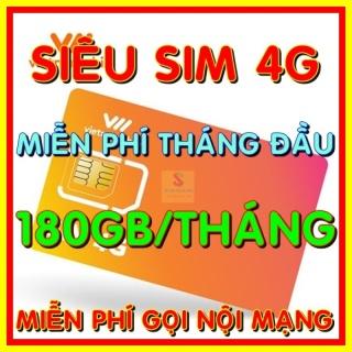 [HCM]Sim 4G Vietnamobile có 180Gb tháng gói 6Gb ngày - Đã có sẵn miễn phí sẵn tháng đầu thánh sim thumbnail