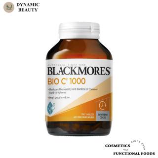[Hàng chuẩn Úc] Viên uống bổ sung vitamin C Blackmores bio vitamin c 1000mg 62 viên và 150 viên tăng sức đề kháng blackmore của Úc thumbnail