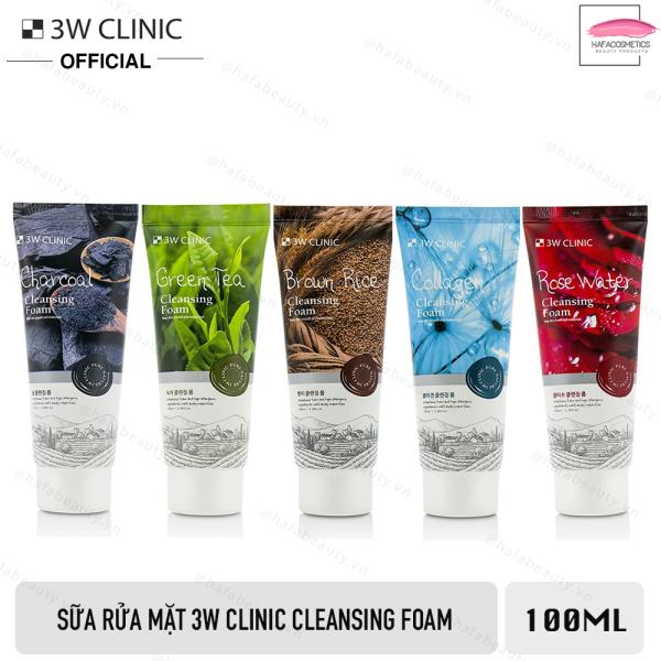 Sữa rửa mặt 3W Clinic Cleansing Foam 100ml
