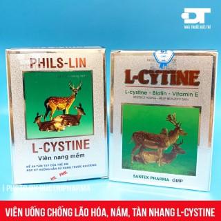 L-CYSTINE PHILS-LIN L-CYTINE - Hỗ trợ giảm sạm da, tàn nhang, mề đay, chống lão hóa thumbnail