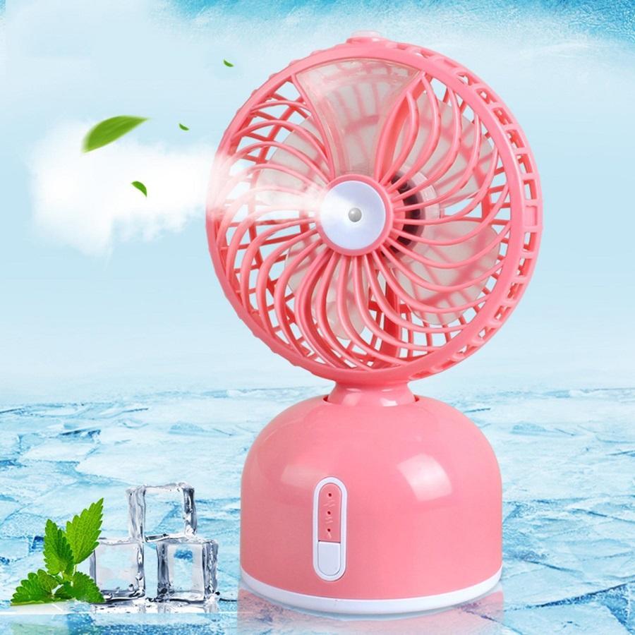 Quạt hơi nước, Quạt hơi nước mini cung cấp hơi nước làm mát không khi, giảm oi bức tránh nóng hiệu quả cho mùa hè này