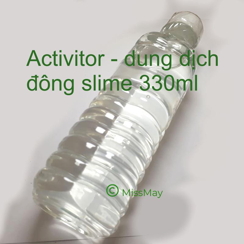 Dung Dich đông Slime Borax Pha Sẵn - Activitor 330 Ml Bất Ngờ Ưu Đãi Giá