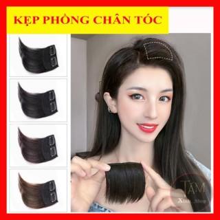 Kẹp phồng chân tóc, tóc giả kẹp phồng loại đẹp chất tóc hàn quốc dạng ngắn làm tôn tóc dài 10cm- 15cm - GIÁ 1 BÊN thumbnail