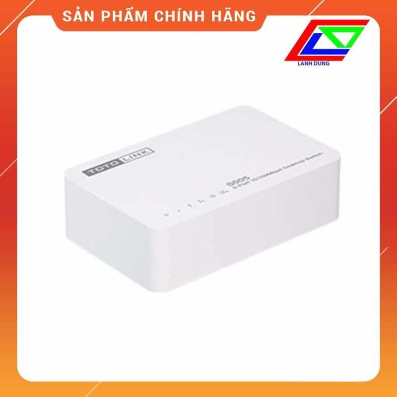 Bảng giá Bộ chia mạng 5 cổng 10/100Mbps Totolink S505 Phong Vũ