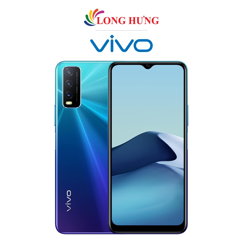 [Trả góp 0%] Điện thoại Vivo Y20 2021 (4GB/64GB) - Hàng chính hãng - Màn hình 6.51inch HD+ bộ 3 Camera sau Pin 5000mAh