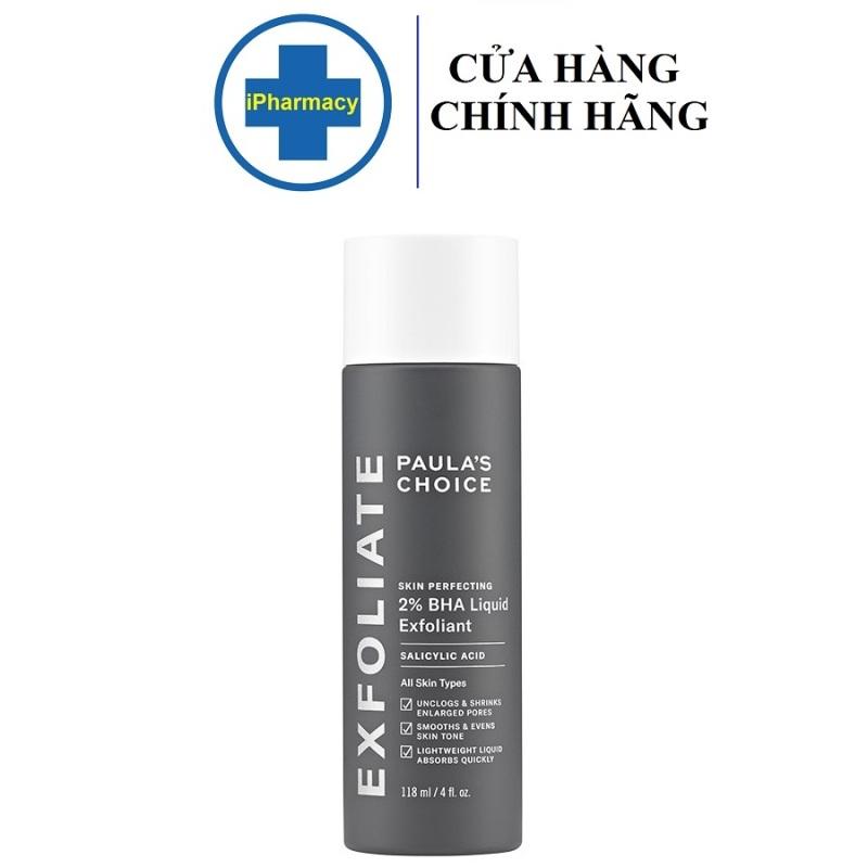 Dung Dịch Loại Bỏ Tế Bào Chết Paulas Choice Skin Perfecting 2% BHA 30ml