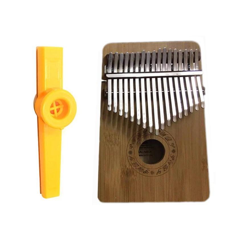 Đàn Kalimba 17 Phím Gỗ Mahogany Yael Y17M Kèm Kèn Kazoo DreamMaker - HÀNG CÓ SẴN