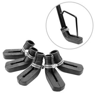 Combo 5 cái Lót chân chống xe máy cao su loại dây rút chống trầy nền nhà - dùng mọi loại xe thumbnail