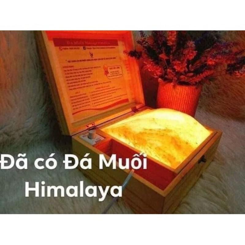 ĐÈN ĐÁ MUỐI HIMALAYA MASAGE CHÂN (đá hồng cong tặng thêm 2 bóng đèn)