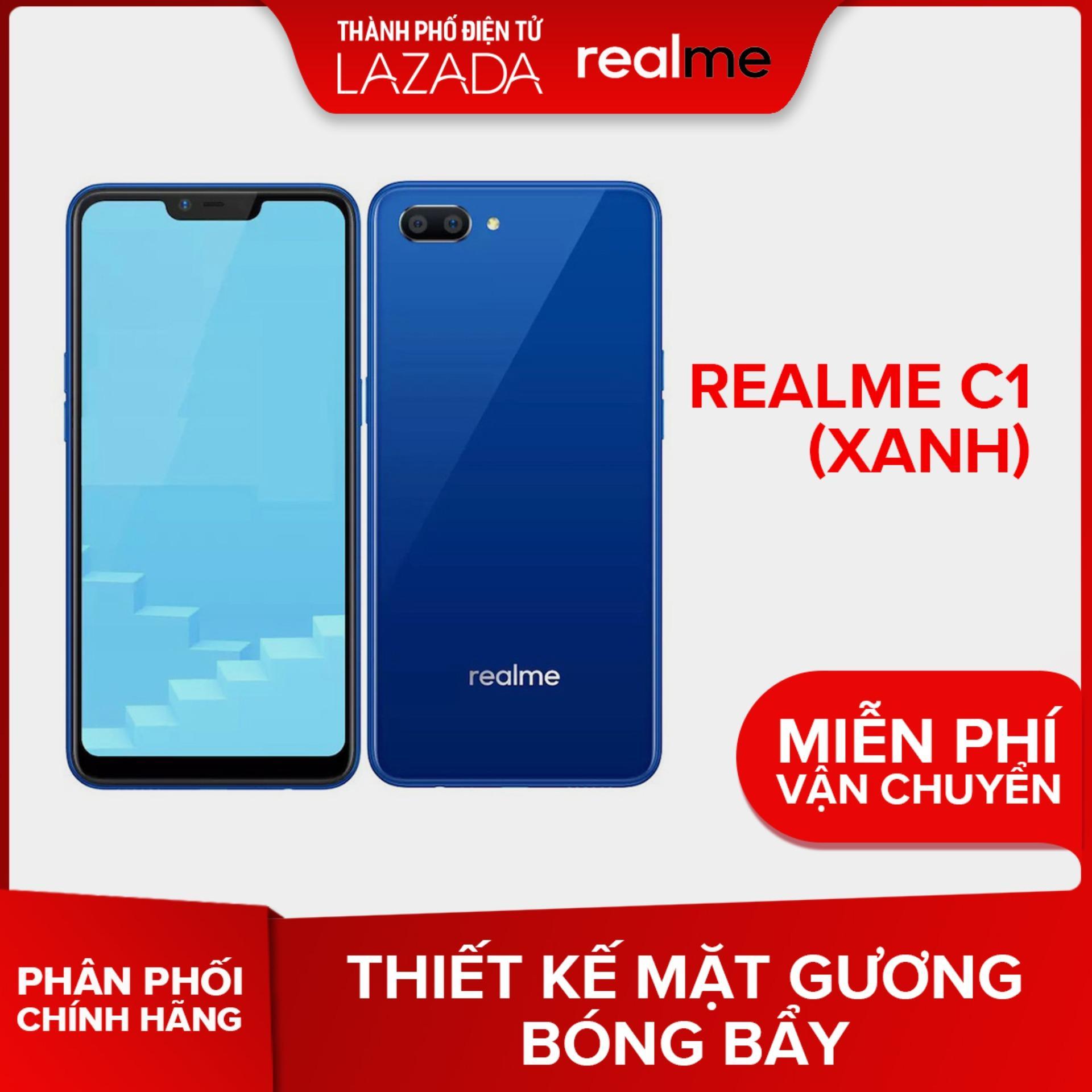 Realme C1 (Xanh) - Hãng phân phối chính thức