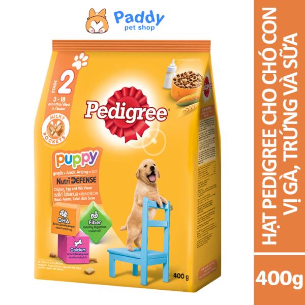 [400g] Hạt Pedigree Cho Chó Con - Vị Gà & Trứng