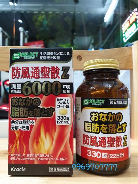 Viên giảm cân giảm mỡ bụng thần thánh Select Kraice 6000mg Z Nhật Bản tốt nhất