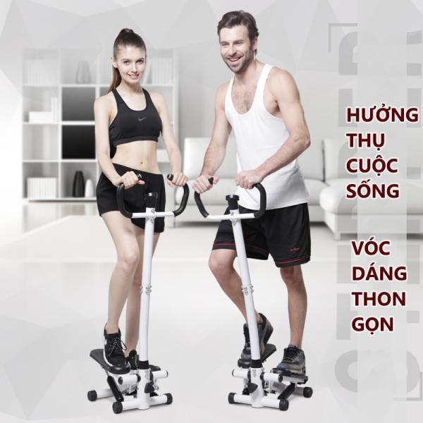 Máy bước bộ tại nhà máy tập bước chân có tay cầm thon gọn săn chắc rèn luyện sức khỏe đa chức năng Tops Market
