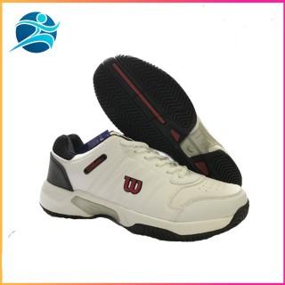 giày tennis nam wilson mẫu mới màu trắng đỏ, đủ size dành cho nam thumbnail