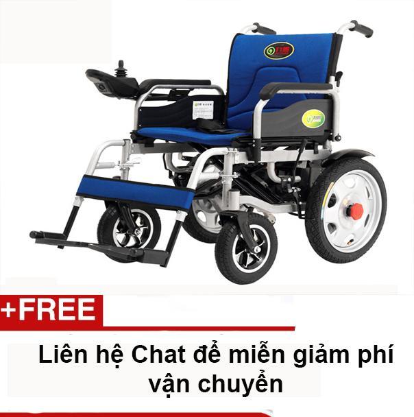 Xe lăn điện gấp gọn được trong cốp xe ô tô Jiuyuan HG-W680