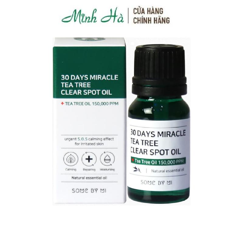Tinh dầu giảm mụn Some By Mi 30 days Miracle Tea tree Clear Spot Oil 10ml giá rẻ