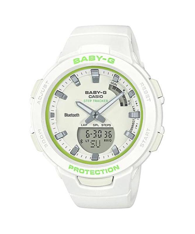 Đồng Hồ Nữ Casio Dây Nhựa BABY-G BSA-B100SC-7ADR Chính Hãng