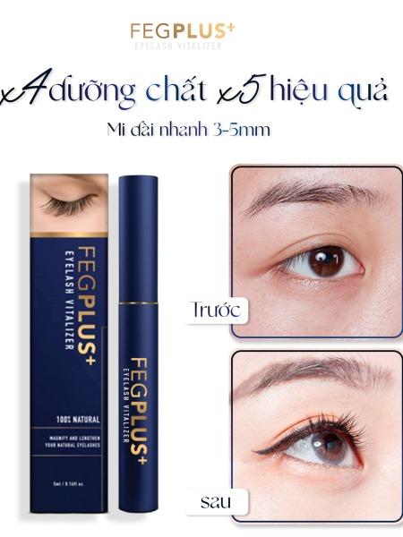 Serum Dưỡng Mi Ban Đêm FEG PLUS+ Eyelash Vitalizer 5ml