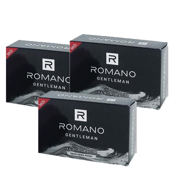 Combo 3 Xà bông tắm Romano Gentleman 90g*3 giá rẻ