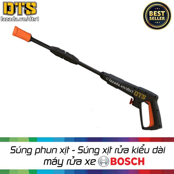 Súng xịt rửa cao áp kiểu dài cho máy rửa xe B0sch, B0sch AQT Phù hợp với tất cả máy rửa xe Bosch, Bosch AQT Báng s.úng có thiết kế chắc chắn Vỏ ngoài: Nhựa ASB cứng, chịu va đập tốt