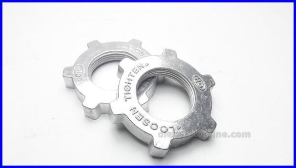 Bộ 2 khóa lồng, chặn lồng quạt nhôm cao cấp chất liệu bằng nhôm không bị bể vỡ khi siết - Điện Việt