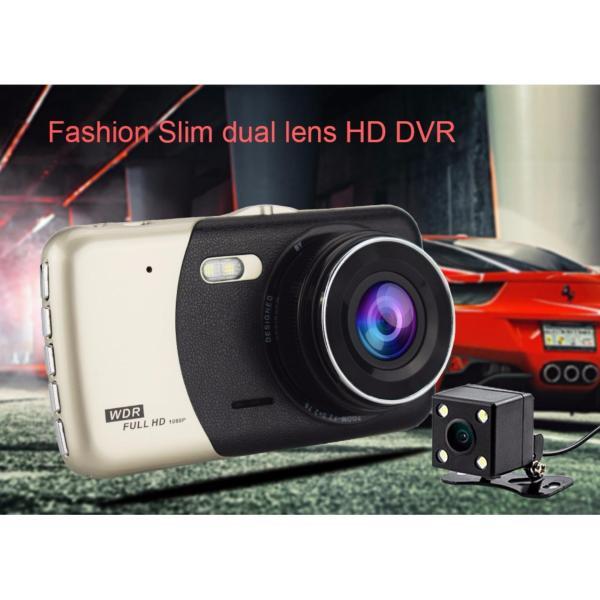 Camera Hành Trình Ô Tô Cao Cấp Dual Lens 2560 Kiêm Camera Lùi Tặng Thẻ Nhớ 32GB