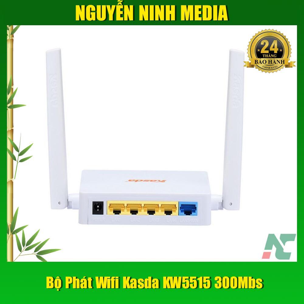 Giá Bộ Phát Sóng Wifi Kasda KW5515 300Mbs