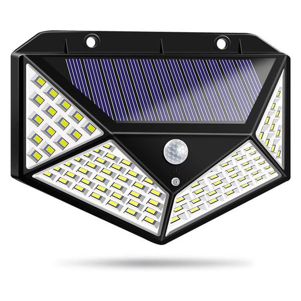 Đèn Năng Lượng Mặt Trời 100 LED - 3 Chế độ Sáng đèn Cảm Biến Hồng Ngoại Giá Sốc Không Thể Bỏ Qua