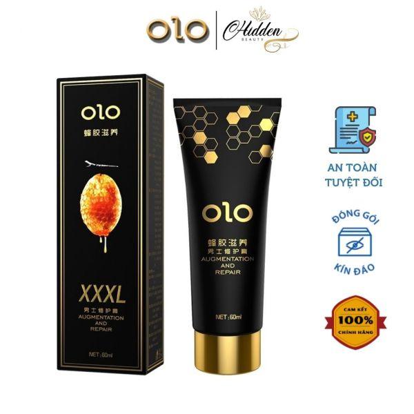 Gel bôi trơn Olo Propolis dưỡng da, đẩy mạnh phát triển kích thước, tăng thời lượng yêu, tuýp 60ml - Hidden Beauty