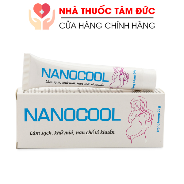 Kem dưỡng vùng kín phụ nữ NANOCOOL làm sạch, khử mùi, giảm viêm nhiễm nấm ngứa - Tuýp 20g giá rẻ