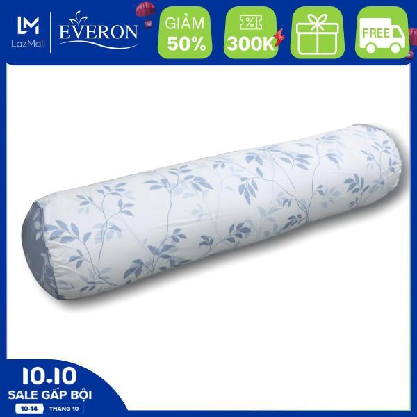 Vỏ Gối Ôm MicroTencel Họa Tiết Lá Mảnh  K-Bedding by Everon KMTP101 - Chăn ga Hàn Quốc