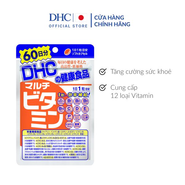 Viên uống DHC Multi Vitamin Tổng Hợp Gói 60 Ngày giá rẻ