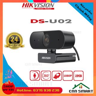 [ Chính hãng ] Webcam [ WC ] Cho Máy Tính HIKVISION DS - U02 FullHD độ phân giải 1920x1080 tích hợp mic chuyên dụng cho Livestream, Học và làm Online thumbnail