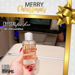 Nước hoa nữ Lua Crystal For Her NGỌT NGÀO VÀ LÔI CUỐN (60ML) thumbnail