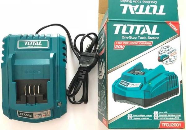 sạc pin Lithium 20v TOTAL