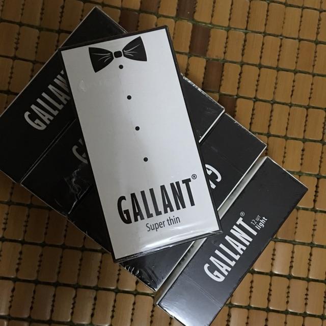 Bao cao su siêu mỏng Gallant