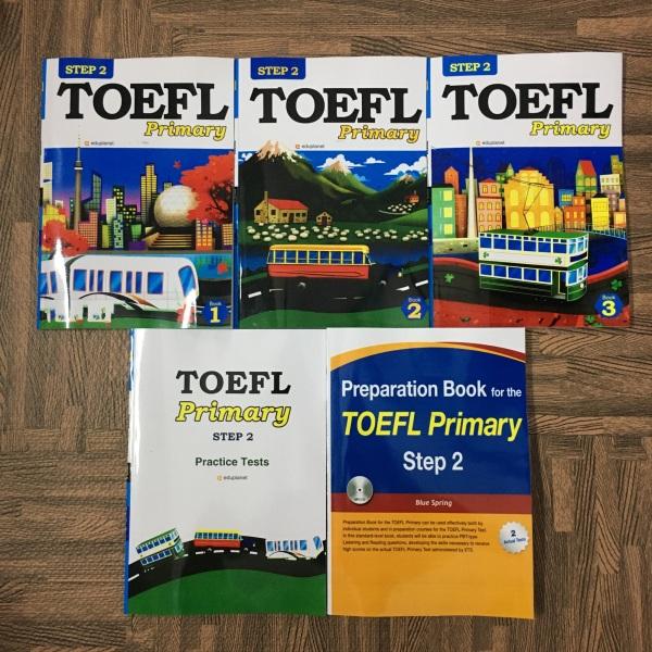 Mua Bộ Sách 5 quyển Toefl primary Step 2 (in đen trắng) - Hanoi bookstore