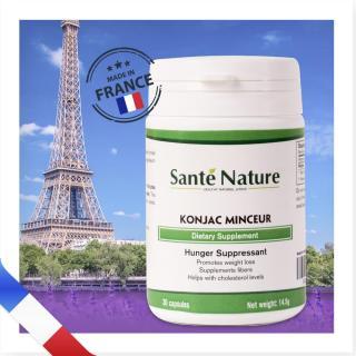 Viên uống giúp ức chế sự thèm ăn Santé Nature Konjac Minceur thumbnail