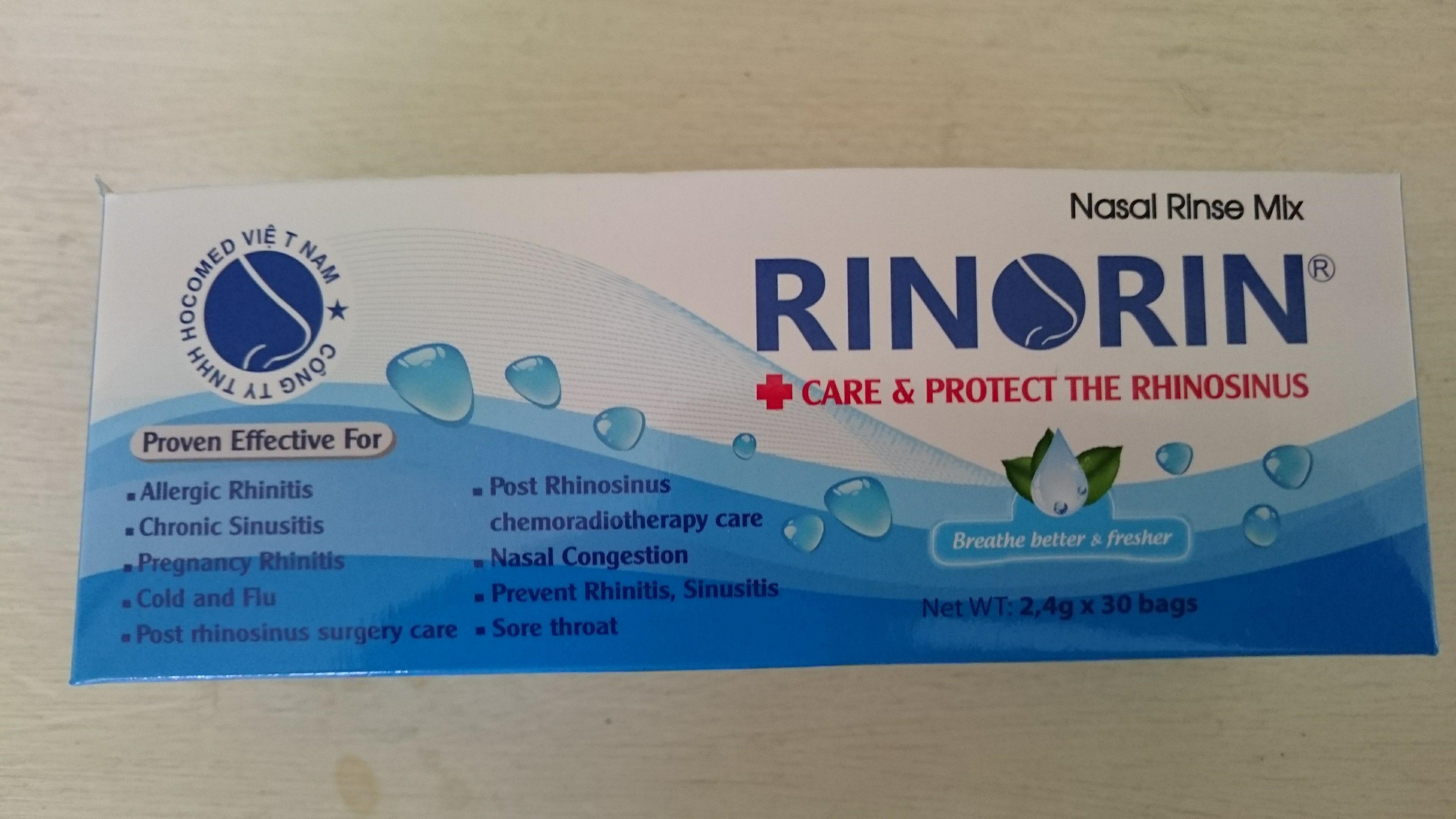 Hộp muối Rinorin nhập khẩu