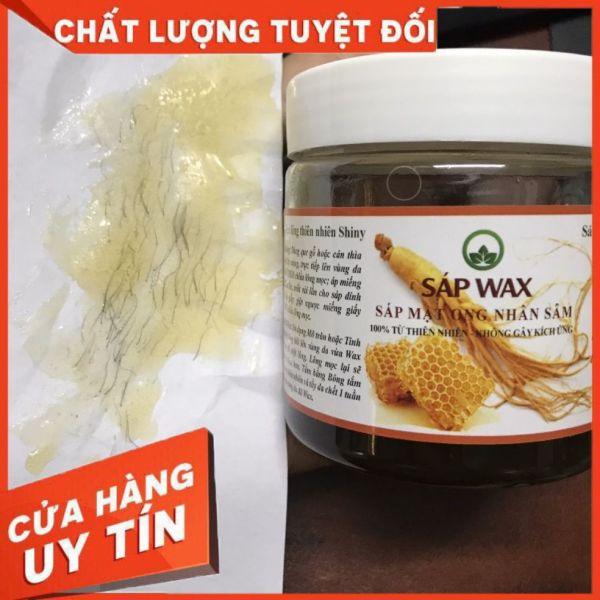 Sáp Wax Triệt Lông Nhân Sâm Shiny Handmade(Tặng Kèm Dụng Cụ Wax)