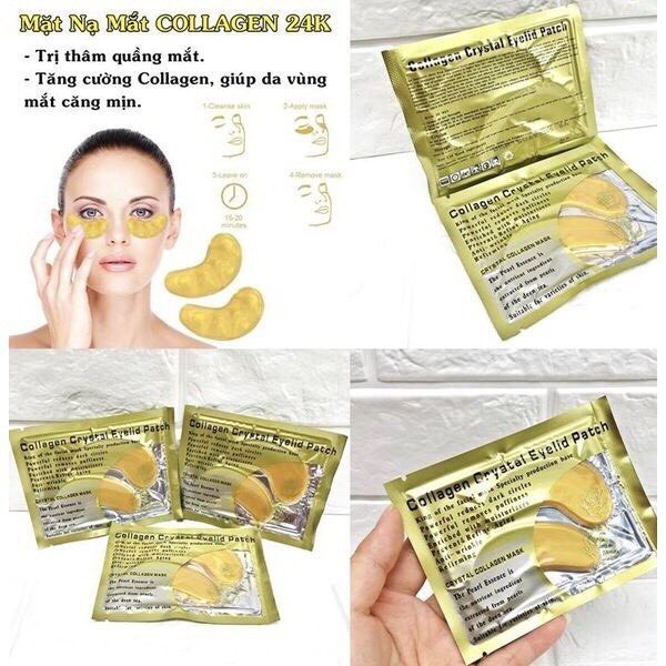 COMBO 10 cặp mặt nạ mắt Collagen cho mắt thâm (MỚI)