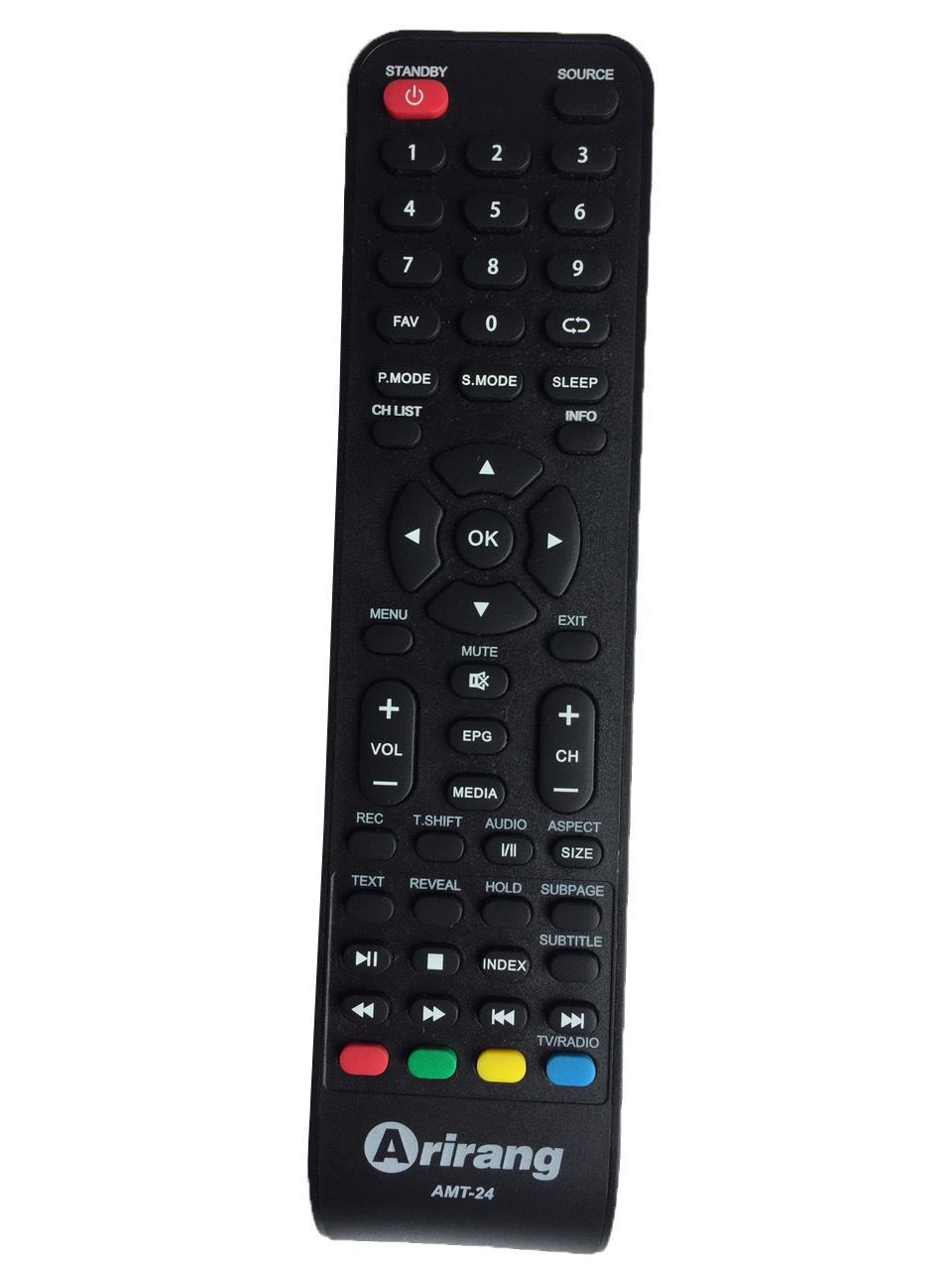 Bảng giá Remote Tivi Arirang AMT-24 (24 inch)