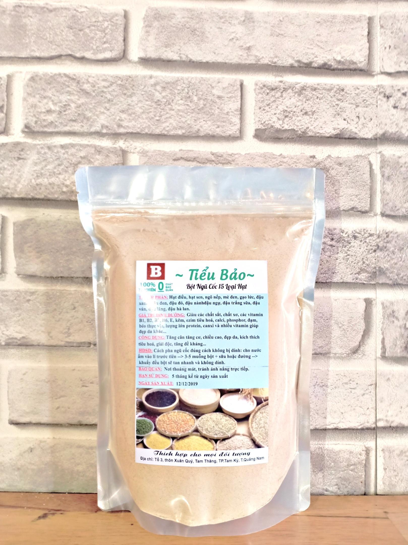[Giá Xưởng]0.5kg Bột ngũ cốc nhà làm giúp tăng cân,tăng cơ,tăng chiều cao và đẹp da,15 loại hạt nhập khẩu